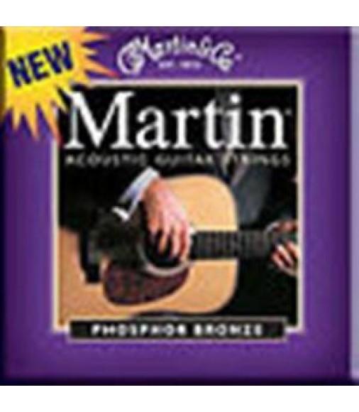 MARTIN M535 ACOUSTIC CUSTOM LIGHT GUITAR STRINGS PHOSPHOR BRONZE 11's M 535