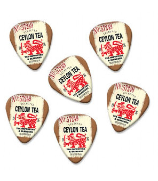 Ceylon Tea Importers Martin Wiscombe 6 X Guitar Picks Vintage Retro