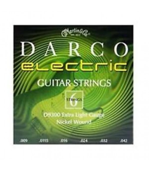 DARCO ELECTRIC GUITAR STRINGS - MARTIN Extra Light 9 42
