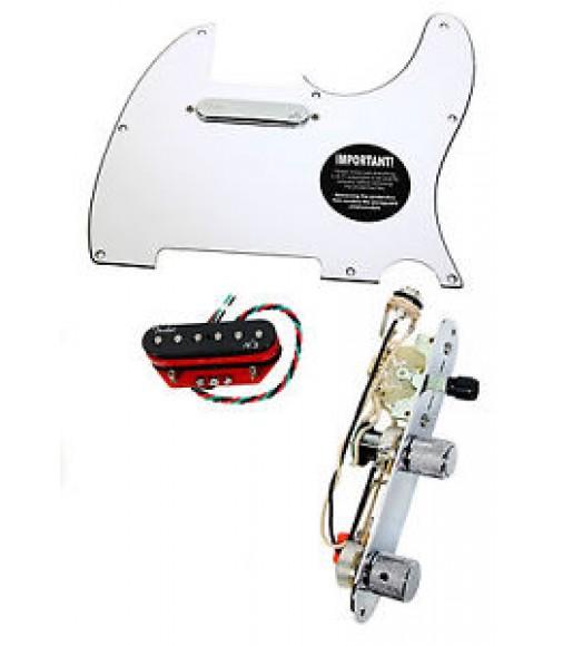 Fender Telecaster Loaded Pickguard Fender N3 Noiseless Pickups w/Switch WH