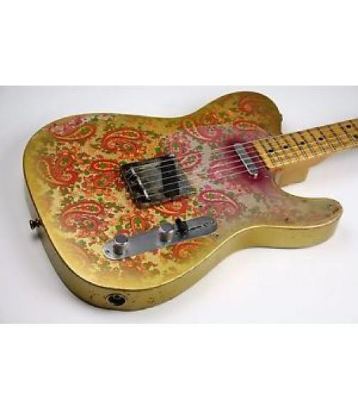 NEW Fender Custom shop Masterbuilt Telecaster 69 Gold Paisley Heavy Relic W/OHSC