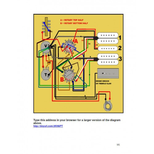 Guitar Wiring Diagram Book : Guitar electronics wiring guide diagram for fender