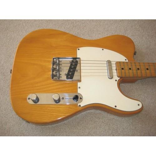 1975 fender telecaster guitar natural finish all original w tolex hs case guitars china online. Black Bedroom Furniture Sets. Home Design Ideas
