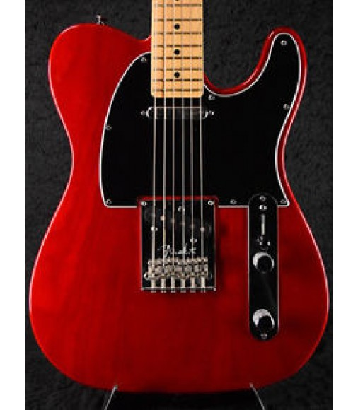 Used Fender USA American Standard Telecaster 2011 Crimson Red Transparent Guitar