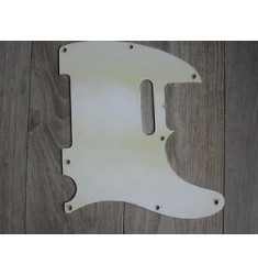 '54 - '59 Fender Telecaster 8 hole Pickguard 1956 '55 '56 '57 '58 Tele White 1