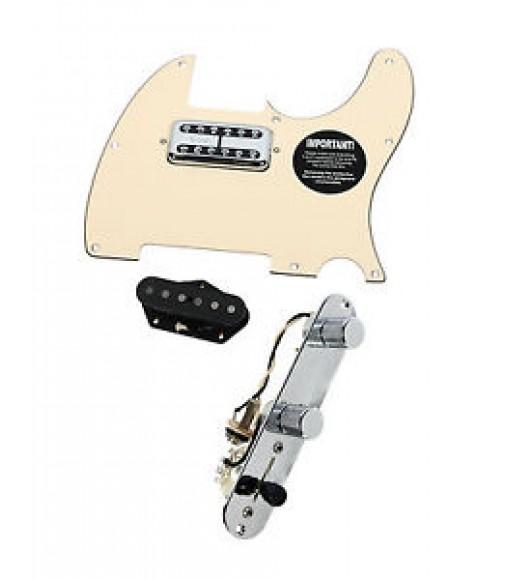 Fender Telecaster Loaded Pickguard TV Jones Dimarzio Twang King T4W CR