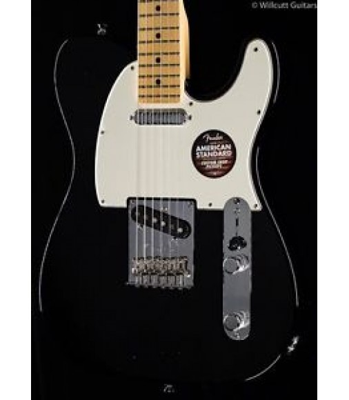 Fender American Standard Telecaster® Black, Maple (403)