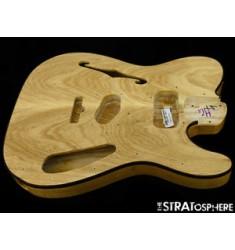 2016 Fender American ELITE Thinline Telecaster BODY USA Tele USA Natural Ash