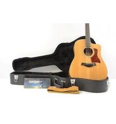 2013 Taylor 210CE-K DLX Acoustic/Electric Guitar - Natural w/OHSC - Koa Deluxe