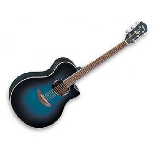 New Yamaha Apx500ii Ocean Blue Burst Acoustic Electric
