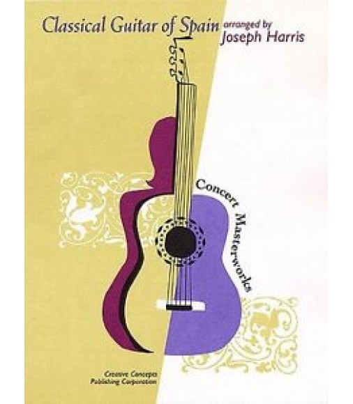 Classical Guitar Of Spain. Sheet Music