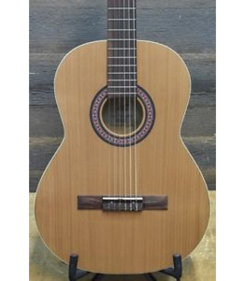 "La Patrie Etude Left ""SF"" Full-Size Left-Handed Classical Guitar #000364900046"