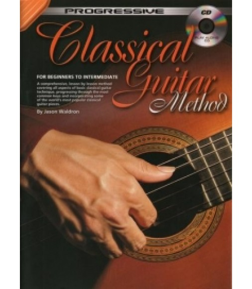 PROGRESSIVE CLASSICAL GUITAR METHOD Book & CD