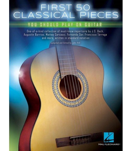 First 50 Classical Pieces - Guitare - Recueil