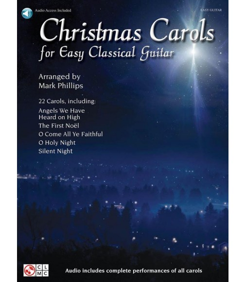 Christmas Carols for Easy Classical Guitar - Guitare - Recueil + CD