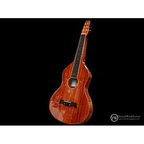 Mahogany Wood Guitar ~ Weissenborn guitar solid mahogany twisted original by