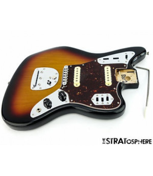 LOADED 2016 Fender Classic Player HH Jaguar BODY Guitar 3 Color Sunburst SALE!