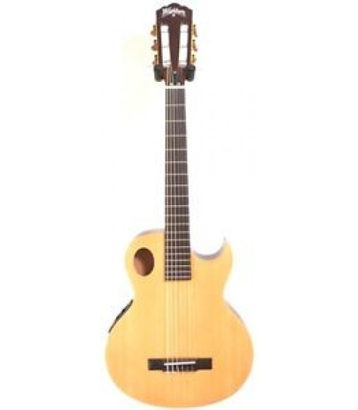Washburn Model EACT42S Classical Thinline Acoustic Electric Guitar - Blem #B71