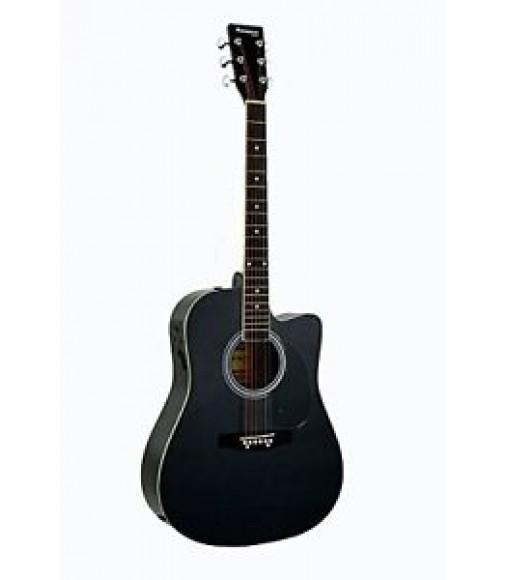 Directly Cheap Full Size Black Cutaway Acoustic Guitar - & DirectlyCheap(TM)