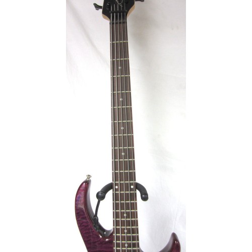 peavey millennium ac bxp electric 5 string bass guitar gloss purple quilt body guitars china. Black Bedroom Furniture Sets. Home Design Ideas