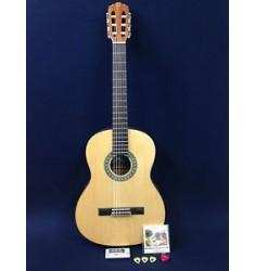 """39"""" Full size Caraya Classical Guitar Natural w/Free gig bag,digital tuner,picks"""