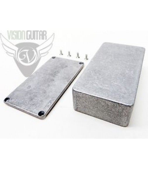 "125B Diecast Aluminum Enclosure - Guitar Pedal Projects - 4.77"" x 2.6"" x 1.39"""