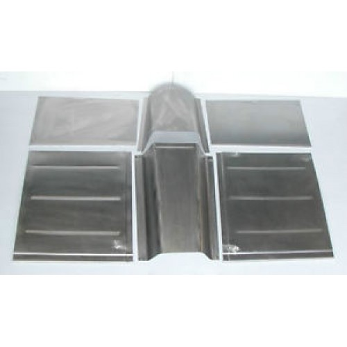 Ford standard deluxe custom front floor floorboard toe for 1950 ford floor pans