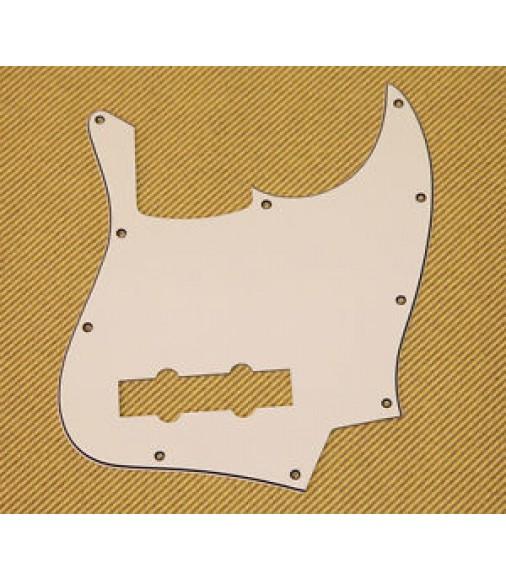 Fender Squier Parchment Jazz Bass Pickguard Standard Series 3-Ply 007-7501-000