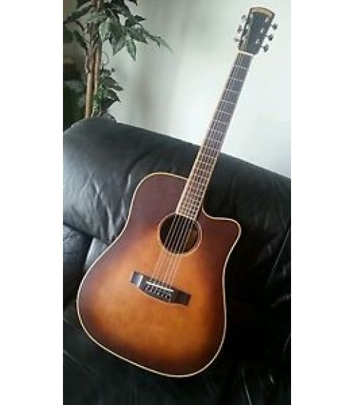 Morgan Monroe acoustic/electric dreadnaught guitar