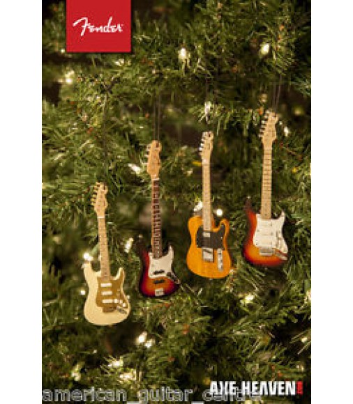 Fender Sunburst Stratocaster Christmas Decoration