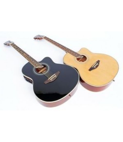 Dreadnought Western Guitare, D'épicéa Revêtement, en 2 couleurs 4EQ
