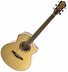 *NEW* Ibanez AEW51 Exotic Tonewood Acoustic Electric Guitar - Natural (C)