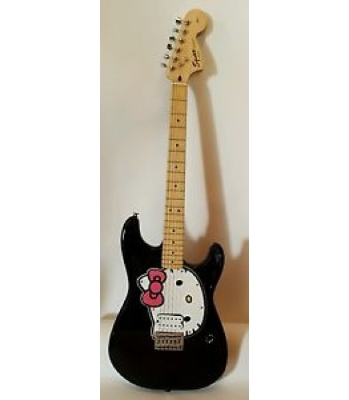 FENDER HELLO KITTY STRATOCASTER GUITAR
