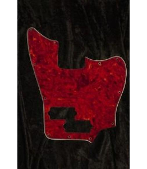 Fender MIM Jaguar Bass Standard Pickguard. 4 Ply Vintage Tort