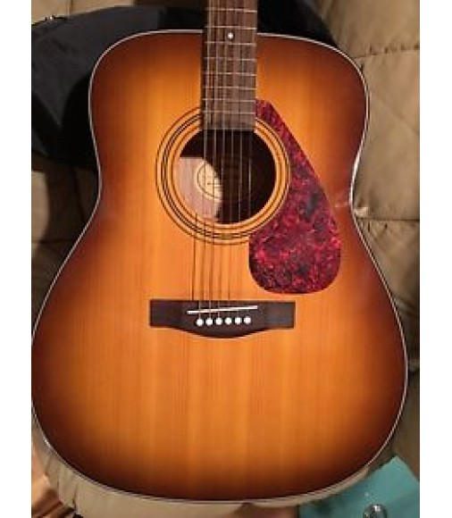 Yamaha f325 tbs dreadnought acoustic guitar with case and for Yamaha f 325 guitar