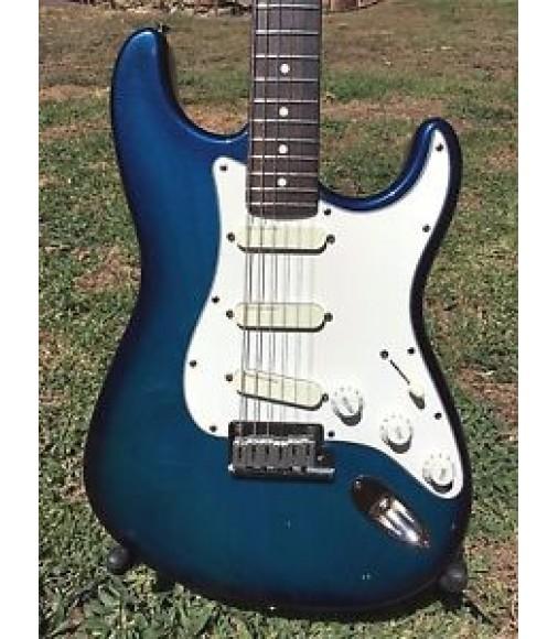 1992 Fender Stratocaster Plus Deluxe Blue Burst Transparent American