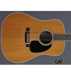 1976 Martin D-35 Dreadnought Flattop Guitar - Natural Spruce Top -