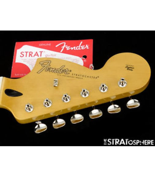 Fender Jimi Hendrix Strat NECK and TUNERS Stratocaster -Maple Reverse Headstock-