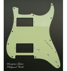 #23 Fender squier Pickguard Double Fat HH Strat Stratocaster Guitar (Mint Green)