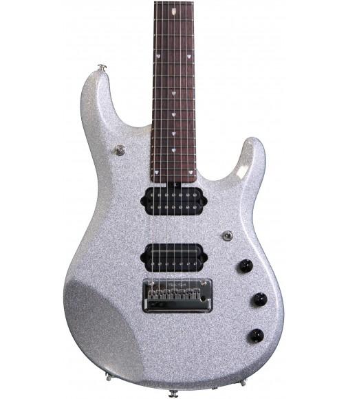 Silver Sparkle, JP Inlay  Ernie Ball Music Man JP7
