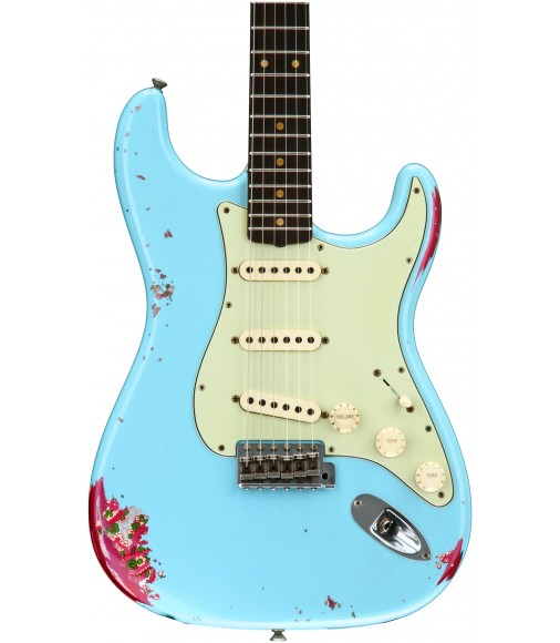 Daphne Blue/Pink Paisley  Fender Custom Shop '60s Stratocaster Heavy Relic/Closet Classic Mix