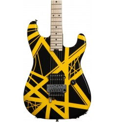 Black and Yellow  EVH Striped Series