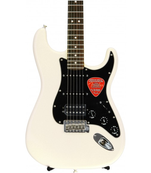 Olympic White, HSS  Fender American Special Stratocaster