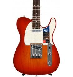 Aged Cherry Burst, Rosewood Fretboard  Fender American Elite Telecaster