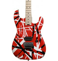 Red, Black, and White  EVH Striped Series