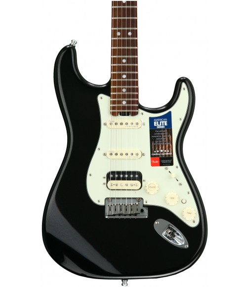 Mystic Black  Fender American Elite Stratocaster HSS, Rosewood