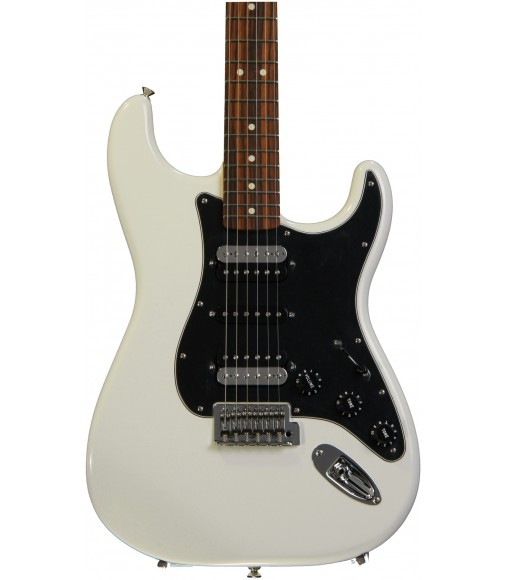 Olympic White, Rosewood Fingerboard  Fender Standard Stratocaster HSH