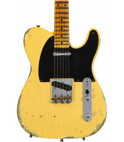 Nocaster Blonde  Fender Custom Shop 1952 Time Machine Heavy Relic Telecaster