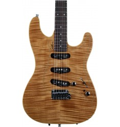 Natural Flame, Rosewood FB  Godin Passion RG-3