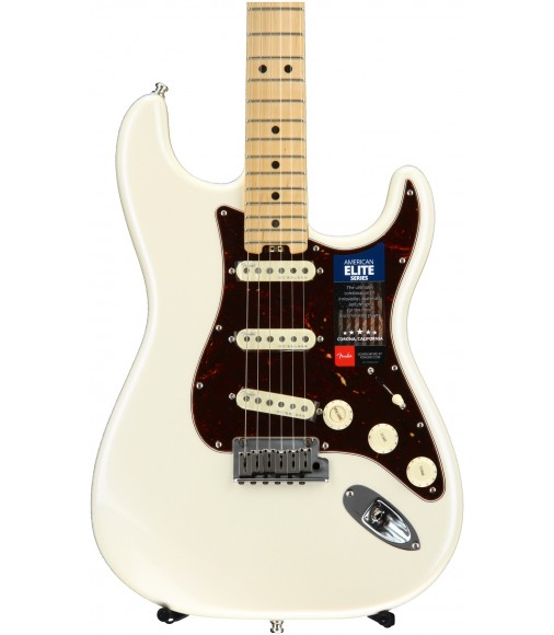 Olympic Pearl  Fender American Elite Stratocaster, Maple